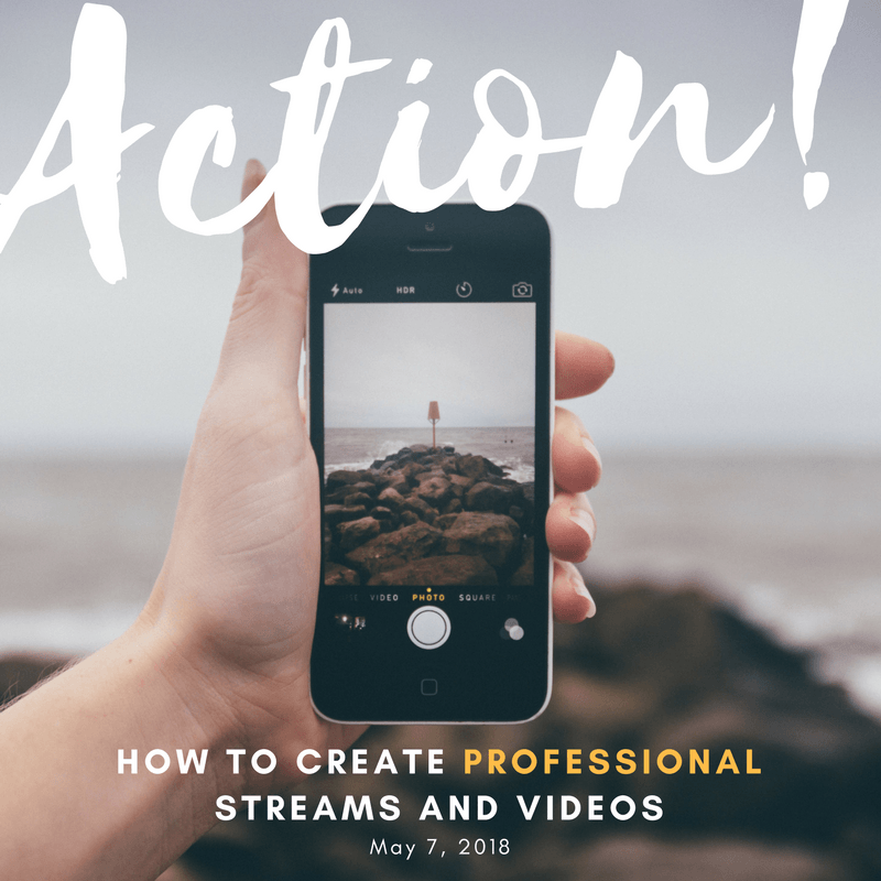 How to Create Professional Streams and Videos